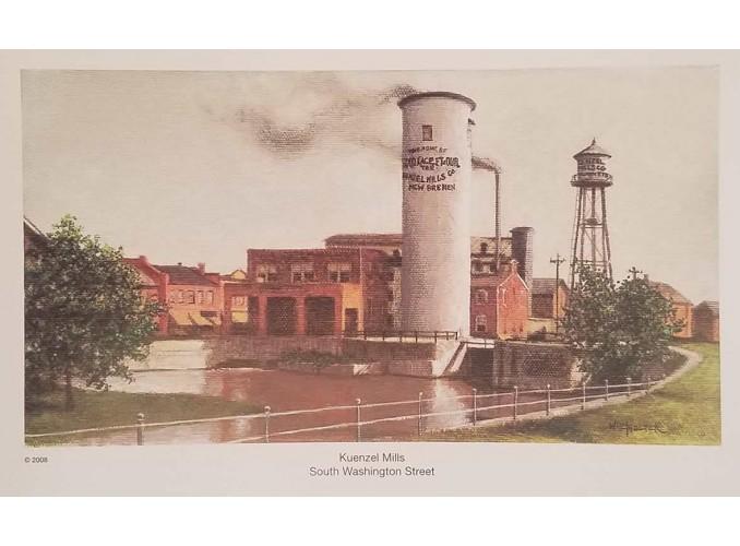 Kuenzel Mills Print