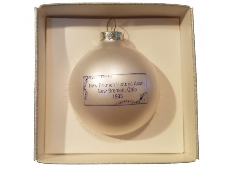 Luellman House Christmas Ornament