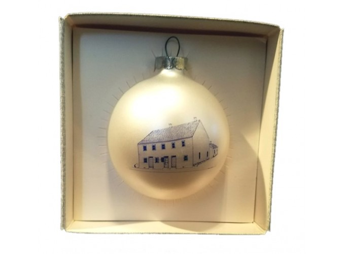 Luelleman House Christmas Ornament