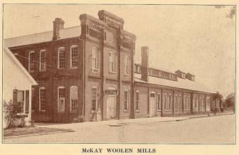 McKay Woolen Mills - 1933