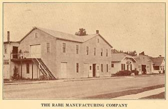 Rabe Manufacturing Company - 1933