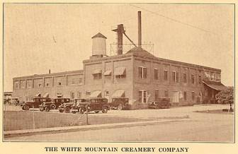 White Mountain Creamery - 1933