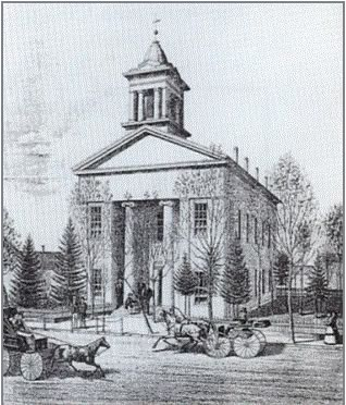Auglaize County Courthouse - 1850