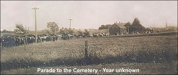 Parade to the Cemetery