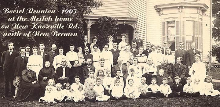 1905 Boesel Reunion