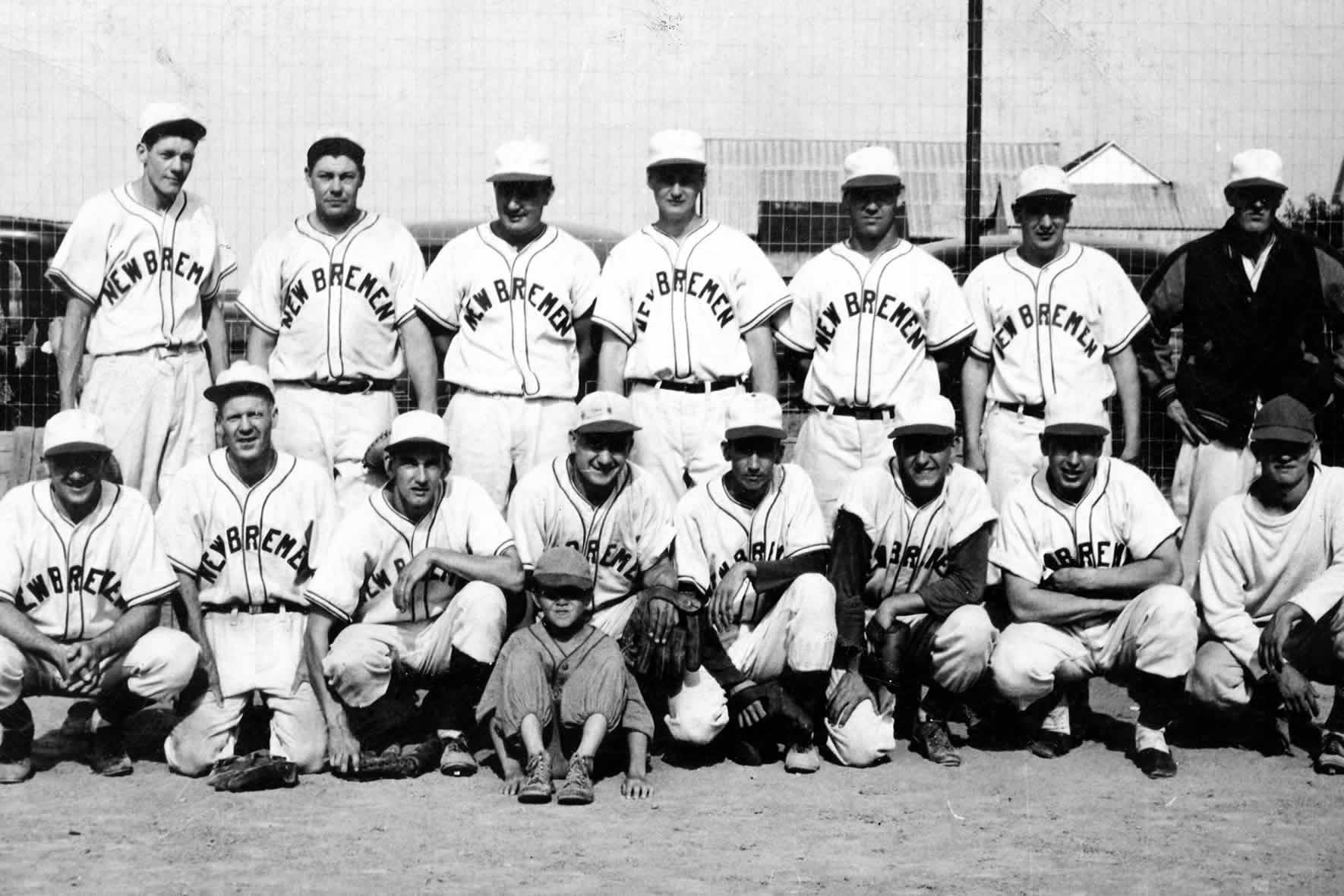 New Bremen Baseball - 1950's