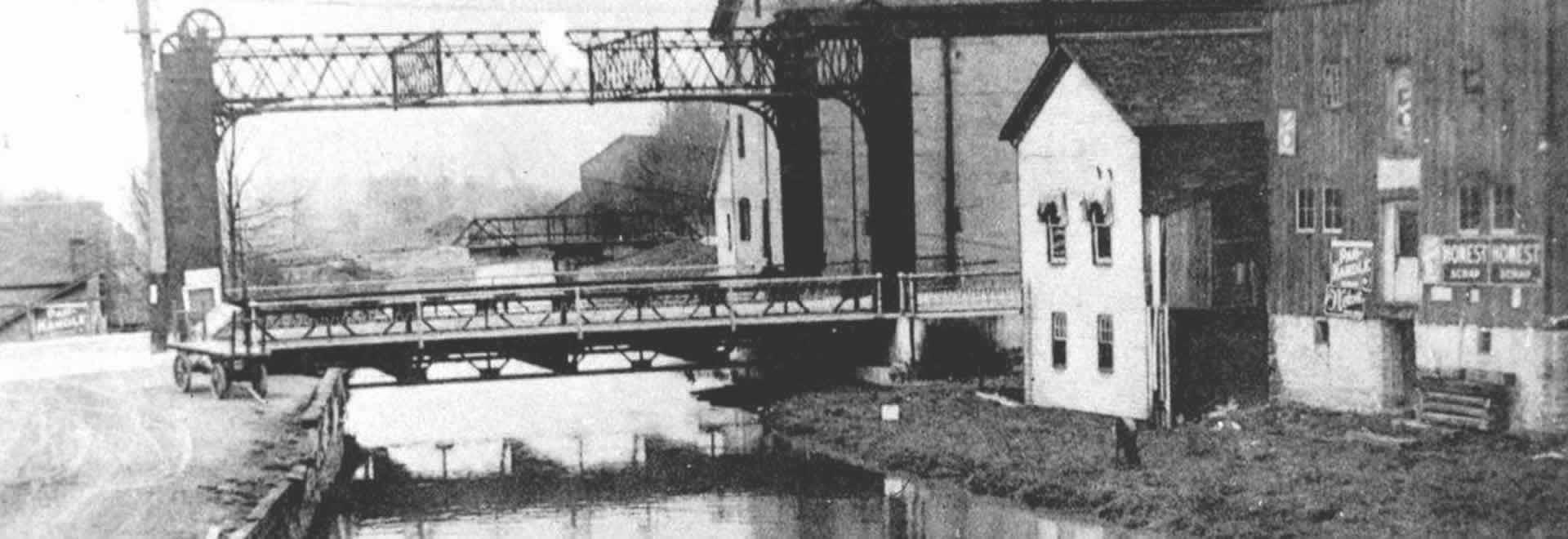 The Miami Erie Canal, New Bremen, Ohio.