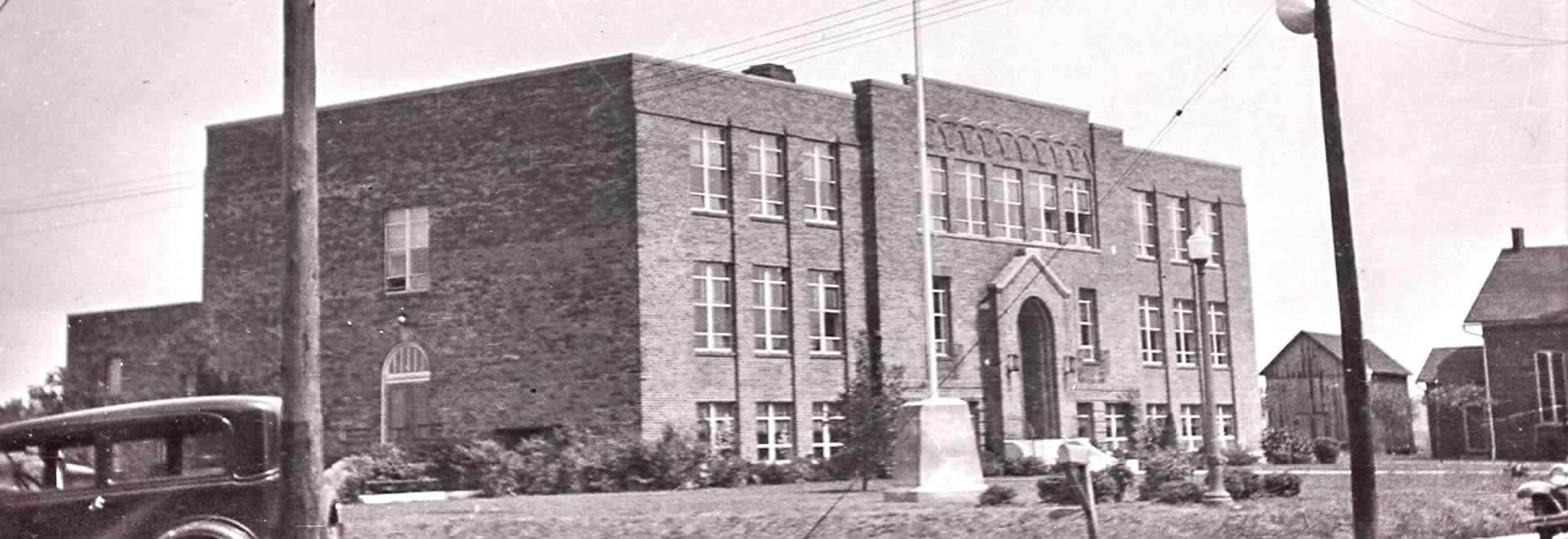The New Bremen High School built in 1930